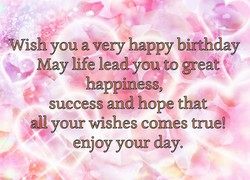 Swish you a very happy birthday 