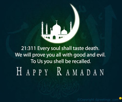 21:311 Every soul shall taste death. 