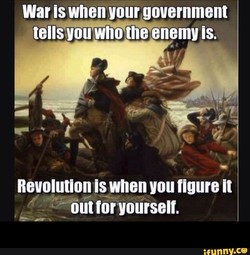 War is when your government 