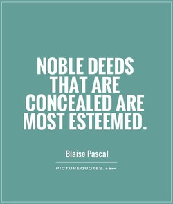 NOBLE DEEDS 