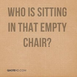 WHO IS SITTING 