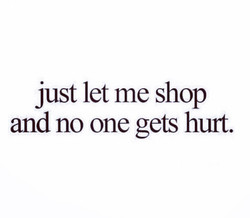 just let me shop 