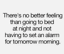 Therels no better feeling 