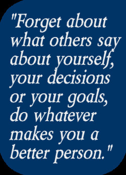 'Forget about 