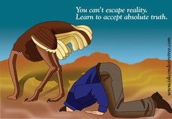 You can't escape reality. 