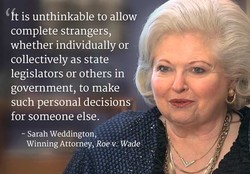 ft is unthinkable to allow 