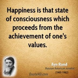 Happiness is that state 