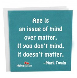 Age is 