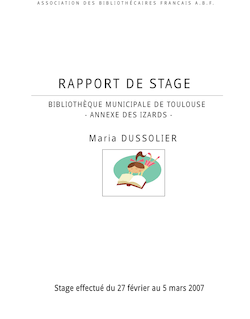 RAPPORT DE STAGE 