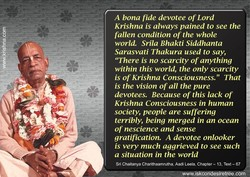 A bona fide devotee of Lord 