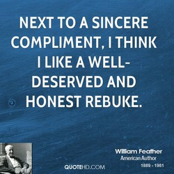 NEXT TO A SINCERE 