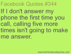 Facebook Quotes #344 