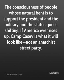 The consciousness of people 