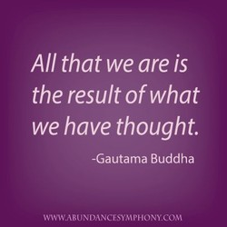 All that we are is 
