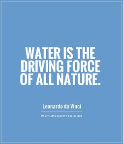 WATER IS THE 