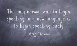 The only normal wdy to begin 