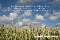 But He moswered avu said, dd(t 'Us writtevv, 