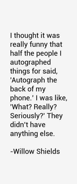 I thought it was 