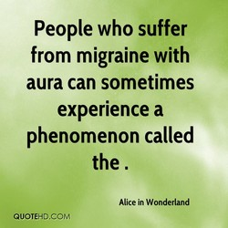 People who suffer 