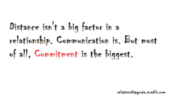 Distance isn t a factor in a 