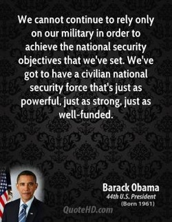 We cannot continue to rely only 