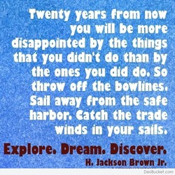 Twenty years from now 