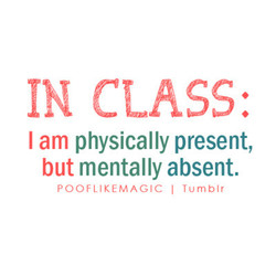IN CLASS: 
