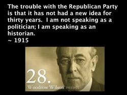 The trouble with the Republican Party 