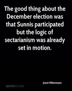 The good thing about the 