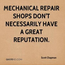 MECHANICAL REPAIR 