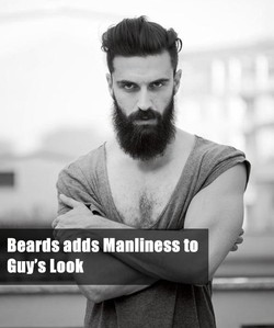 Beards adds Manliness to 