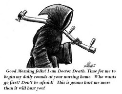 Good Morning Olks! I Doctor Death. Time for me to 
