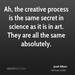 Ah, the creative process 