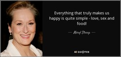 Everything that truly makes us 