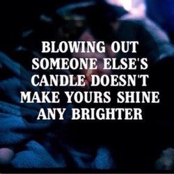 BLOWING OUT 