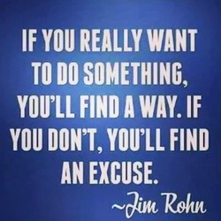 IF YOU REALLY WANT 