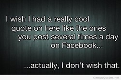 I wish I had a really cool 