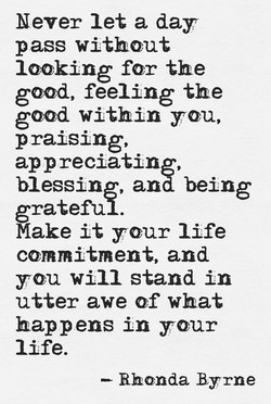 Never let a day 