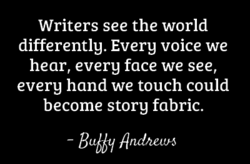 Writers see the world 