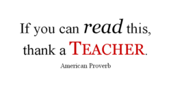 If you can read this, 