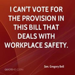 I CAN'T VOTE FOR 