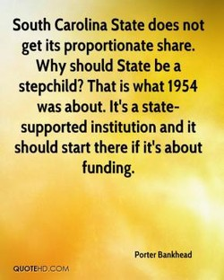 South Carolina State does not 