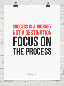 SUCCESS IS A JOURNEY NOT A DESTINATION FOCUS ON THE PROCESS WJtnppq.nte