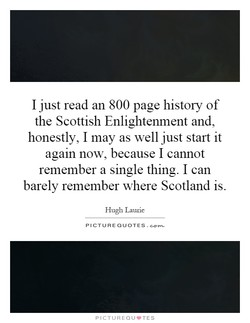 I just read an 800 page history of 