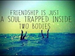 FRIENDSHIP IS JUST 