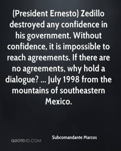 (President Ernesto) Zedillo 