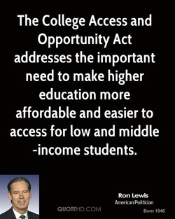 The College Access and 