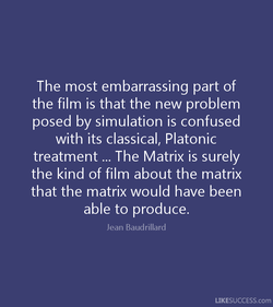 The most embarrassing part of 