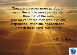 hereis no scorn more profound, 