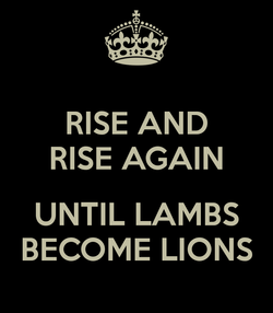 RISE AND 